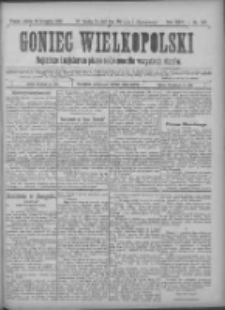 Goniec Wielkopolski: najtańsze pismo codzienne dla wszystkich stanów 1900.11.10 R.24 Nr257+dodatki