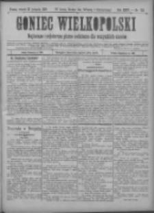 Goniec Wielkopolski: najtańsze pismo codzienne dla wszystkich stanów 1900.11.20 R.24 Nr265