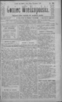 Goniec Wielkopolski: najtańsze pismo codzienne dla wszystkich stanów 1883.09.28 R.7 Nr220