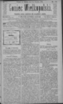 Goniec Wielkopolski: najtańsze pismo codzienne dla wszystkich stanów 1883.12.01 R.7 Nr274