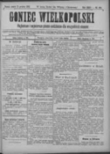 Goniec Wielkopolski: najtańsze pismo codzienne dla wszystkich stanów 1900.12.21 R.24 Nr290