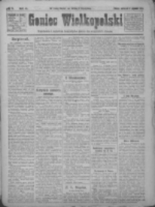 Goniec Wielkopolski: najtańsze pismo codzienne dla wszystkich stanów 1922.01.05 R.45 Nr4