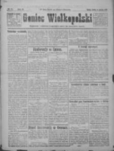 Goniec Wielkopolski: najtańsze pismo codzienne dla wszystkich stanów 1922.01.14 R.45 Nr11