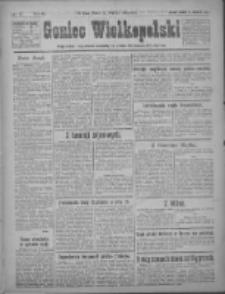 Goniec Wielkopolski: najtańsze pismo codzienne dla wszystkich stanów 1922.01.21 R.45 Nr17