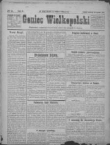 Goniec Wielkopolski: najtańsze pismo codzienne dla wszystkich stanów 1922.01.26 R.45 Nr21