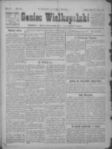 Goniec Wielkopolski: najtańsze pismo codzienne dla wszystkich stanów 1922.02.02 R.45 Nr27