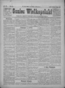 Goniec Wielkopolski: najtańsze pismo codzienne dla wszystkich stanów 1922.02.05 R.45 Nr29