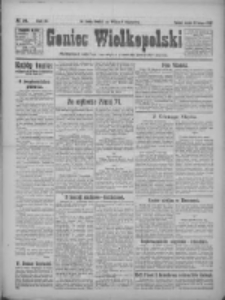Goniec Wielkopolski: najtańsze pismo codzienne dla wszystkich stanów 1922.02.11 R.45 Nr34