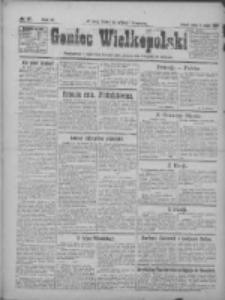 Goniec Wielkopolski: najtańsze pismo codzienne dla wszystkich stanów 1922.02.15 R.45 Nr37
