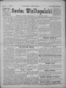 Goniec Wielkopolski: najtańsze pismo codzienne dla wszystkich stanów 1922.02.24 R.45 Nr45