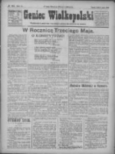 Goniec Wielkopolski: najtańsze pismo codzienne dla wszystkich stanów 1922.05.03 R.45 Nr102