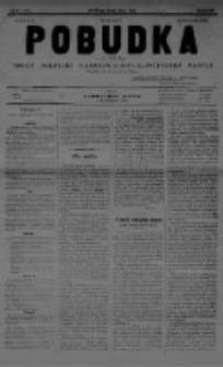 Pobudka. Czasopismo narodowo-socyalistyczne. 1891 R.3 nr1