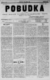 Pobudka. Czasopismo narodowo-socyalistyczne. 1891 R.3 nr10