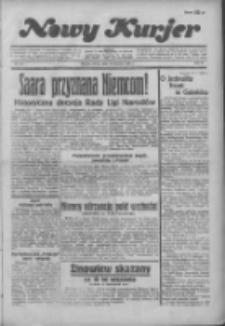 Nowy Kurjer 1935.01.19 R.46 Nr16