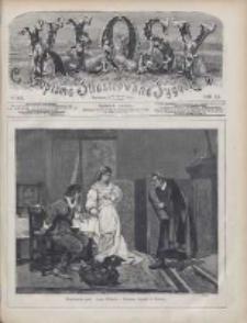 Kłosy: czasopismo ilustrowane, tygodniowe, poświęcone literaturze, nauce i sztuce 1875.01.23(02.04) T.20 Nr501