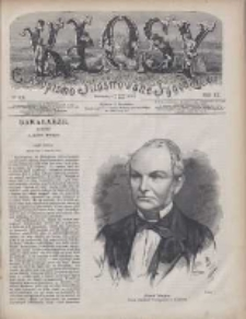 Kłosy: czasopismo ilustrowane, tygodniowe, poświęcone literaturze, nauce i sztuce 1875.02.27(03.11) T.20 Nr506