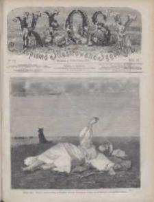 Kłosy: czasopismo ilustrowane, tygodniowe, poświęcone literaturze, nauce i sztuce 1875.04.10(22) T.20 Nr512