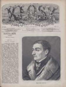Kłosy: czasopismo ilustrowane, tygodniowe, poświęcone literaturze, nauce i sztuce 1875.05.01(13) T.20 Nr515