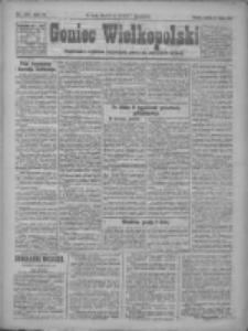 Goniec Wielkopolski: najtańsze pismo codzienne dla wszystkich stanów 1922.07.22 R.45 Nr165
