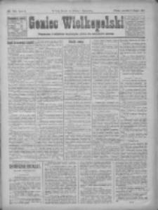 Goniec Wielkopolski: najtańsze pismo codzienne dla wszystkich stanów 1922.08.10 R.45 Nr181