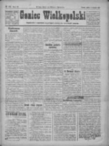 Goniec Wielkopolski: najtańsze pismo codzienne dla wszystkich stanów 1922.08.11 R.45 Nr182