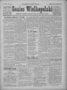 Goniec Wielkopolski: najtańsze pismo codzienne dla wszystkich stanów 1922.08.15 R.45 Nr185