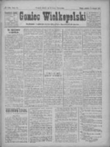 Goniec Wielkopolski: najtańsze pismo codzienne dla wszystkich stanów 1922.08.20 R.45 Nr189
