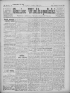 Goniec Wielkopolski: najtańsze pismo codzienne dla wszystkich stanów 1922.09.24 R.45 Nr219