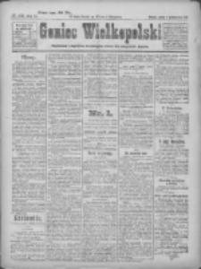 Goniec Wielkopolski: najtańsze pismo codzienne dla wszystkich stanów 1922.10.07 R.45 Nr230