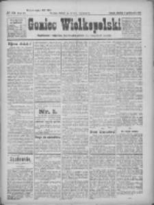 Goniec Wielkopolski: najtańsze pismo codzienne dla wszystkich stanów 1922.10.08 R.45 Nr231
