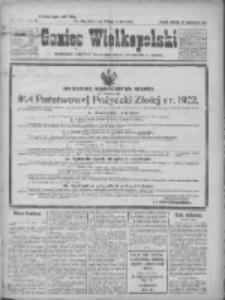 Goniec Wielkopolski: najtańsze pismo codzienne dla wszystkich stanów 1922.10.22 R.45 Nr243