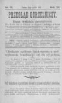 Przegląd Gorzelniczy. Organ Wydziału Gorzelniczego. 1905 R.11 nr12