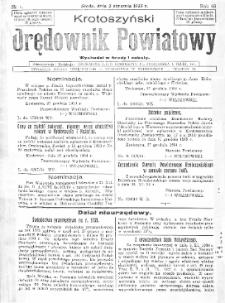 Krotoszyński Orędownik Powiatowy 1935.01.02 R.60 Nr1