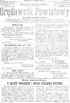 Krotoszyński Orędownik Powiatowy 1935.01.09 R.60 Nr3