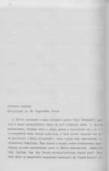 Głos w dyskusjii na konferencji naukowo-dydaktycznej, poświęconej naukom pomocniczym historii Katowice-Wisła, 20-22 V 1975