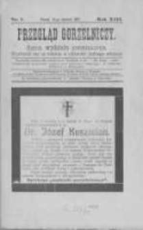 Przegląd Gorzelniczy. Organ Wydziału Gorzelniczego. 1907 R.13 nr1