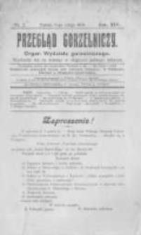 Przegląd Gorzelniczy. Organ Wydziału Gorzelniczego. 1908 R.14 nr2