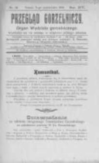 Przegląd Gorzelniczy. Organ Wydziału Gorzelniczego. 1908 R.14 nr10