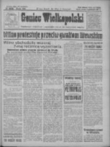 Goniec Wielkopolski: najtańsze i najstarsze bezpartyjne pismo dla wszystkich stanów 1927.10.11 R.50 Nr233