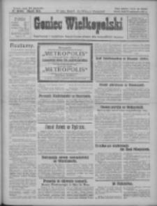 Goniec Wielkopolski: najtańsze i najstarsze bezpartyjne pismo dla wszystkich stanów 1927.10.19 R.50 Nr240