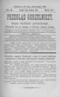 Przegląd Gorzelniczy. Organ Wydziału Gorzelniczego. 1898 R.4 nr9