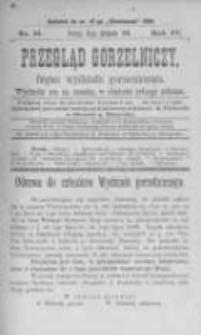 Przegląd Gorzelniczy. Organ Wydziału Gorzelniczego. 1898 R.4 nr11