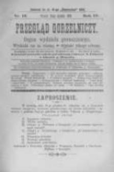 Przegląd Gorzelniczy. Organ Wydziału Gorzelniczego. 1898 R.4 nr12
