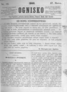 Ognisko. 1860.03.17 R.1 nr12
