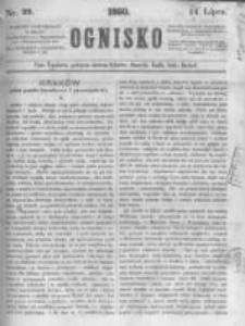 Ognisko. 1860.07.14 R.1 nr29