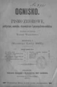 Ognisko. 1865 zeszyt 1