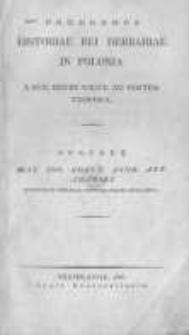 Prodromus historiae rei herbariae in Polonia a suis initiis usque ad nostra tempora