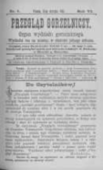 Przegląd Gorzelniczy. Organ Wydziału Gorzelniczego. 1900 R.6 nr1