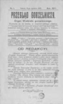 Przegląd Gorzelniczy. Organ Wydziału Gorzelniczego. 1908 R.14 nr1
