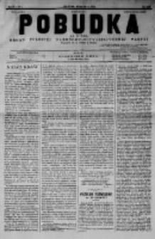 Pobudka. Czasopismo narodowo-socyalistyczne. 1892 R.4 nr5